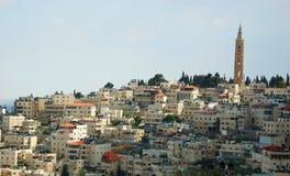 Opinião a cidade santa Jerusalem, Israel imagem de stock royalty free