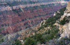 Opinião colorida de Grand Canyon Imagens de Stock Royalty Free