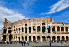 Opinião da antiguidade de Roma do coliseu Fotos de Stock