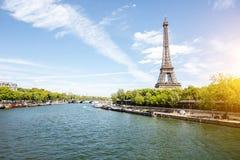 Opinião da arquitetura da cidade de Paris Imagens de Stock Royalty Free