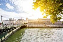 Opinião da arquitetura da cidade de Paris Fotos de Stock Royalty Free