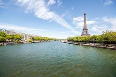 Opinião da arquitetura da cidade de Paris Imagem de Stock