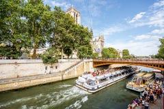 Opinião da arquitetura da cidade em Paris Imagem de Stock