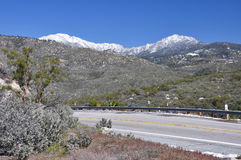 Opinião da borda da estrada Foto de Stock Royalty Free