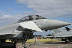 Opinião da cabina do piloto de Eurofighter Imagem de Stock