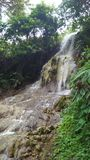 A opinião da cachoeira fotografia de stock royalty free
