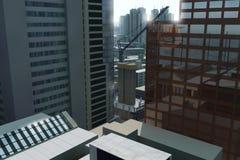Opinião da cidade Fotos de Stock
