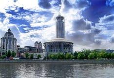 Opinião da cidade Fotos de Stock Royalty Free
