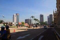 Opinião da cidade da manhã Kuala Lumpur Foto de Stock