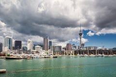 Opinião da cidade de Auckland foto de stock royalty free