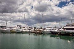Opinião da cidade de Auckland imagem de stock royalty free