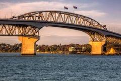 Opinião da cidade de Auckland fotos de stock royalty free
