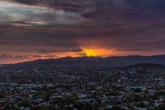 Opinião da cidade de Auckland imagem de stock