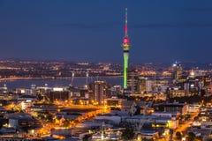 Opinião da cidade de Auckland imagens de stock royalty free