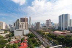 Opinião da cidade de Banguecoque Fotografia de Stock