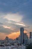Opinião da cidade de Banguecoque imagens de stock