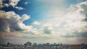 Opinião da cidade de Banguecoque Foto de Stock Royalty Free