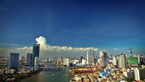 Opinião da cidade de Banguecoque Fotos de Stock Royalty Free
