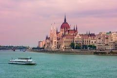 Opinião da cidade de Budapest. Imagens de Stock Royalty Free