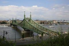 Opinião da cidade de Budapest em Budapest, Hungria, 2015 Fotografia de Stock Royalty Free