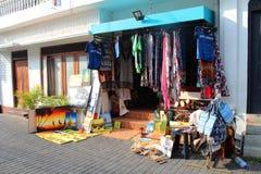 Opinião da cidade de Galle, Sri Lanka foto de stock