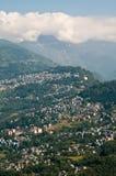Opinião da cidade de Gangtok Imagens de Stock