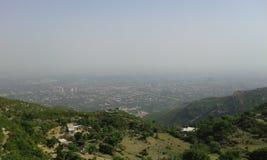 Opinião da cidade de Islamabad Fotos de Stock Royalty Free