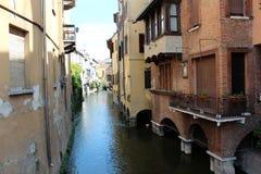 Opinião da cidade de Mantua, Itália Foto de Stock