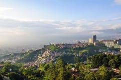 Opinião da cidade de Medellin, Colômbia foto de stock royalty free