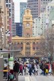 Opinião da cidade de Melbourne imagens de stock royalty free