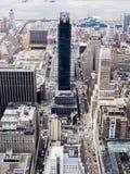 Opinião da cidade de NY Fotos de Stock Royalty Free