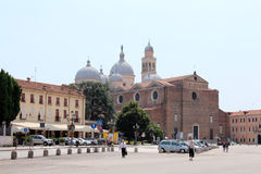 Opinião da cidade de Pádua, Itália Fotos de Stock Royalty Free