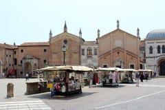 Opinião da cidade de Pádua, Itália Imagem de Stock Royalty Free