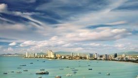 Opinião da cidade de Pattaya Fotos de Stock