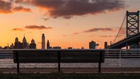 Opinião da cidade de Philadelphfia fotos de stock