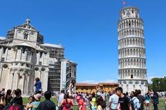 Opinião da cidade de Pisa, Itália Fotografia de Stock