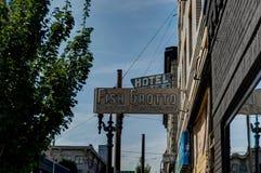 Opinião da cidade de Portland no Estados Unidos da América de Oregon Foto de Stock