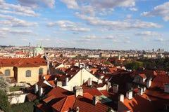 Opinião da cidade de Praga imagem de stock royalty free