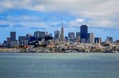 Opinião da cidade de San Francisco, CA Fotografia de Stock Royalty Free