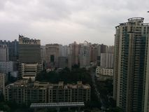 Opinião da cidade de Shanghai Imagem de Stock