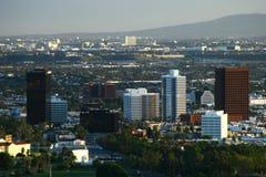 Opinião da cidade de um ponto culminante Imagens de Stock Royalty Free