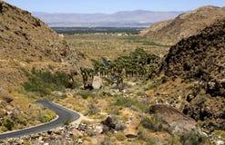 Opinião da cidade do deserto Fotos de Stock Royalty Free