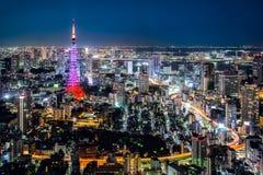 Opinião da cidade do Tóquio Foto de Stock Royalty Free
