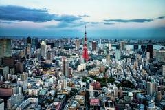 Opinião da cidade do Tóquio Fotos de Stock