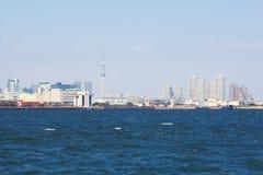Opinião da cidade do Tóquio, Japão Imagens de Stock Royalty Free