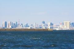 Opinião da cidade do Tóquio, Japão Foto de Stock Royalty Free