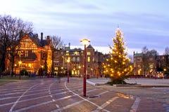 Opinião da cidade em Países Baixos de Amsterdão Imagem de Stock