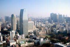 Opinião da cidade, Tokyo, Japão Fotos de Stock Royalty Free