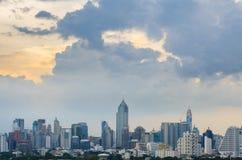 Opinião da construção da cidade na Banguecoque imagem de stock royalty free