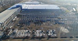 Opinião da construção de cima de, processo da construção, empresa de construção civil, processo da construção civil video estoque